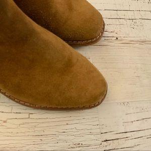Sam Edelman Shoes - Sam Edelman distressed suede ankle boot 7